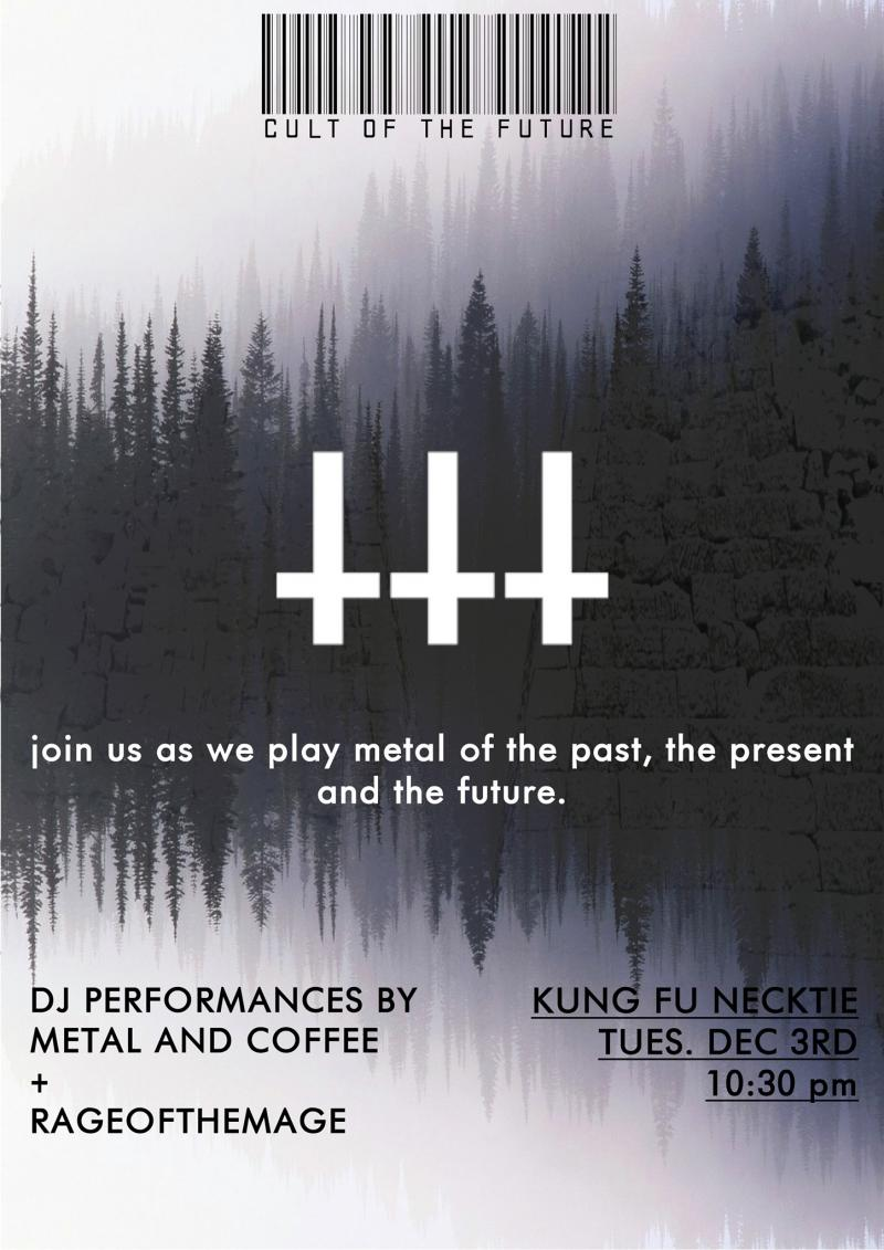 Cult of the Future Flyer