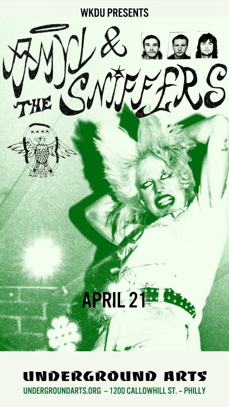 Amyl and the Sniffers at Underground Arts, April 21st, 2020, 9pm