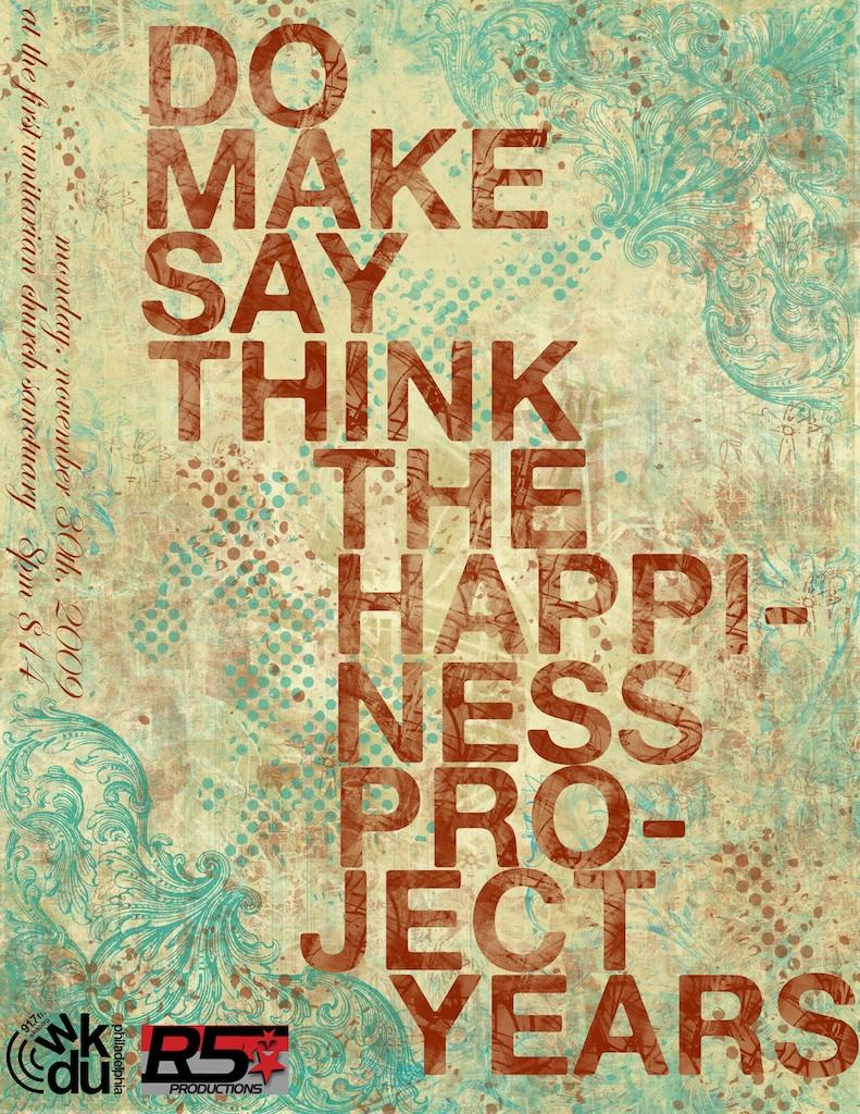 Do Make Say Think and The Happiness Project