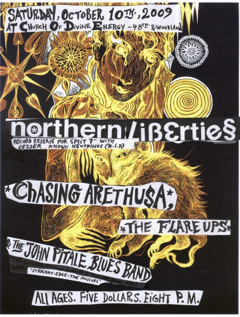 Northern Liberties with Chasing Arathusa, The John Pitale Blues Band
