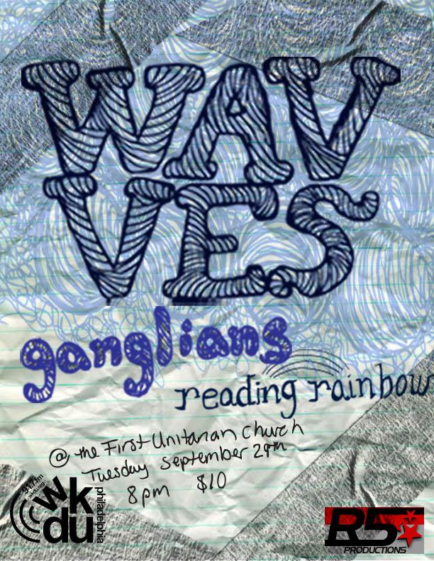 Wavves with Ganglians and Reading Rainbow