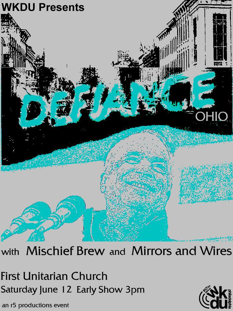 WKDU Presents Defiance, Ohio