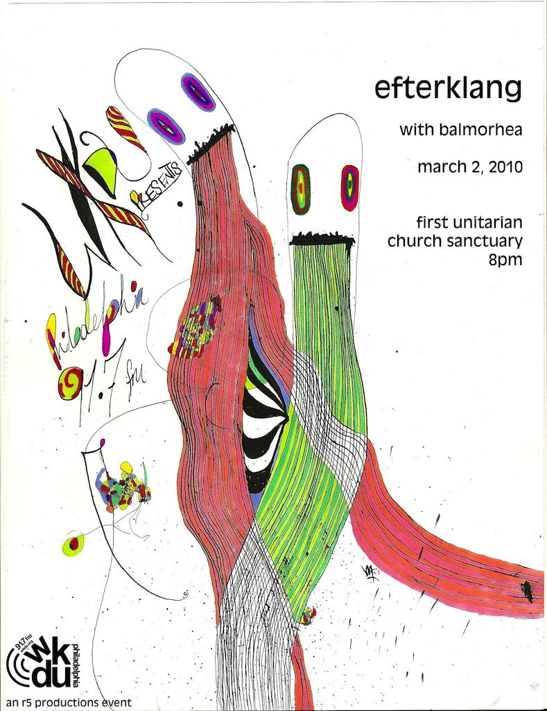 WKDU Presents Efterklang