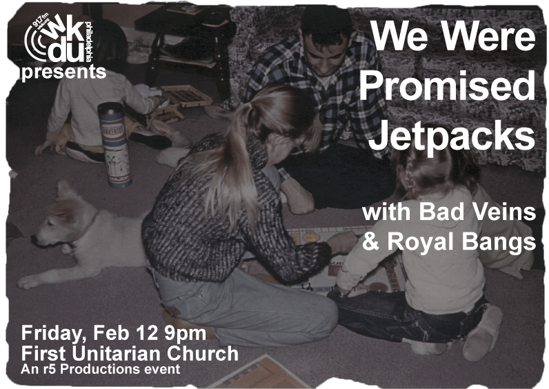 WKDU Presents We Were Promised Jetpacks Image